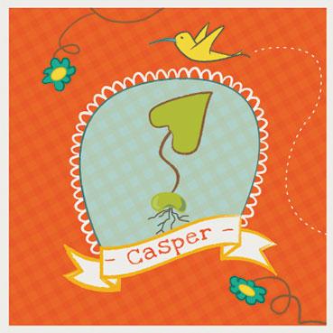 Casper-voorkant-kaartje-gemaakt-door-kaartje-van-koen-geboortekaartjes-op-maat