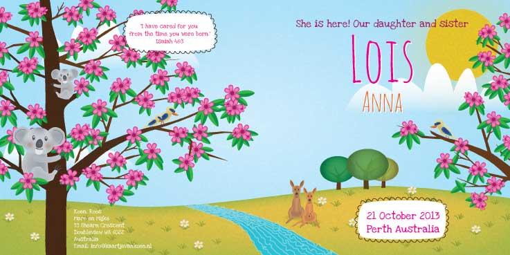 Geboortekaart-Lois-binnenkant-kaartje-van-koen